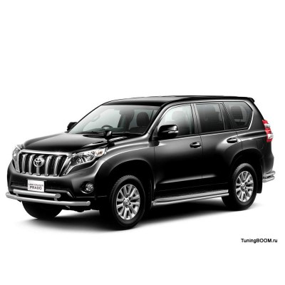 Защита порогов 51 мм TOYOTA LAND CRUISER PRADO 150 / ПТ Групп | ПТ Групп